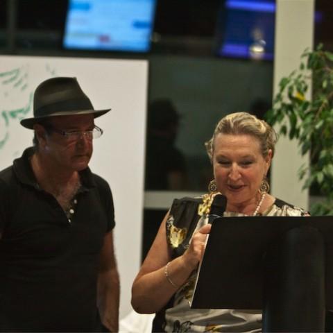 Centrale Enel - Cerimonia di premiazione dei vincitori Michele Baraldi e Francesco Forlani